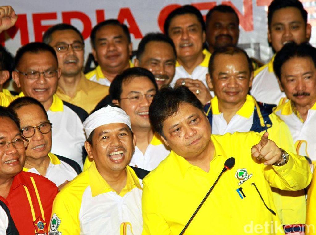 Sederet Prestasi Airlangga, Raih 2.785 Kursi Hingga Menangkan Jokowi