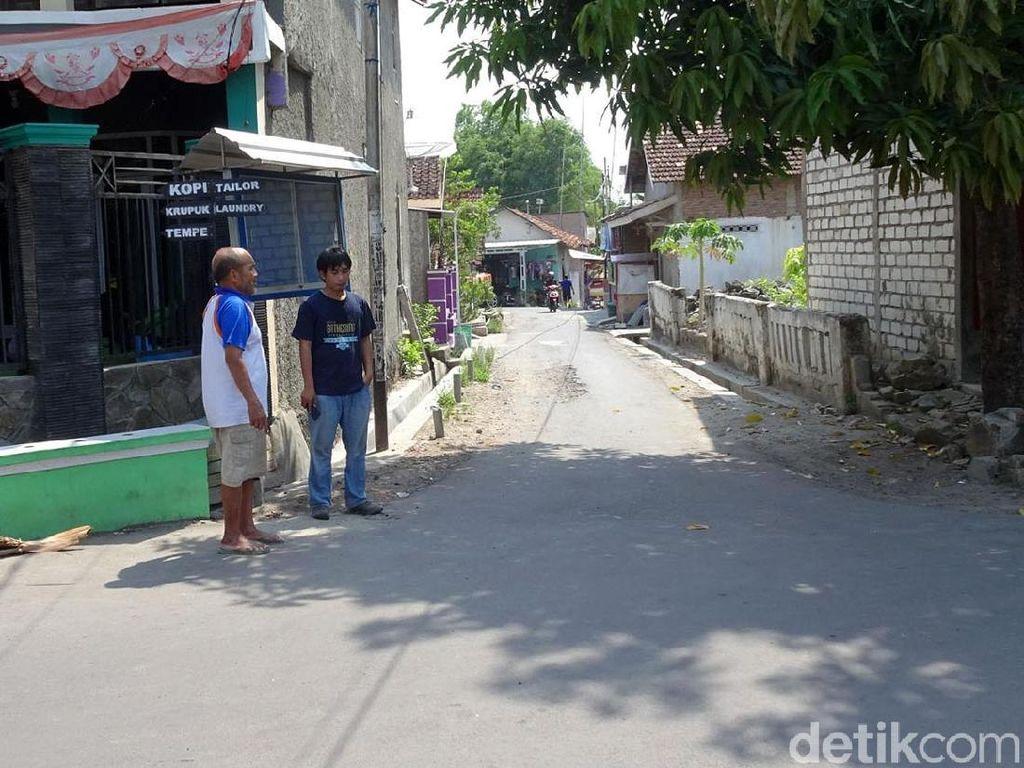 Melihat Lokasi Pembakaran Sadis 2 Pria di Rembang