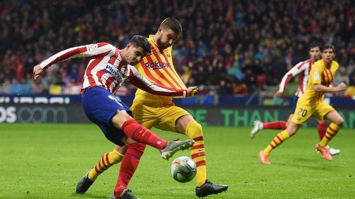 Atletico Madrid baru bikin 16 gol dari 15 pertandingan LaLiga. (Foto: Denis Doyle/Getty Images)