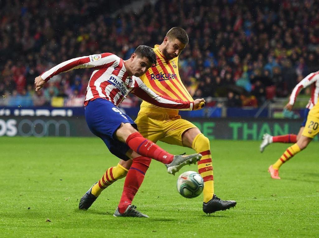 Duh, Atletico Baru Bikin 16 Gol di 15 Pertandingan Liga Spanyol