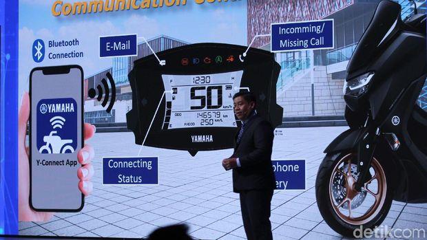 Yamaha NMax 2020 Selain Terkoneksi HP, Ini Keunggulan Lainnya