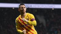 Messi Bungkam Atletico Jelang Laga Bubar