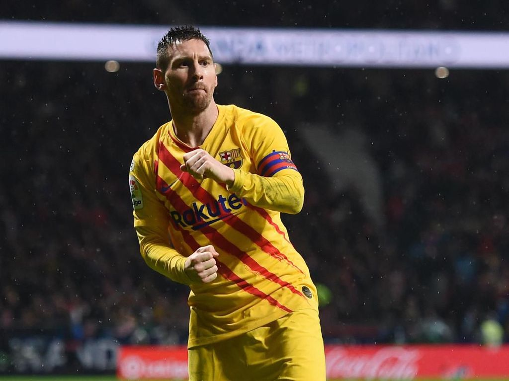 Atletico Madrid Vs Barcelona: Gol Messi Beri Barca Kemenangan 1-0