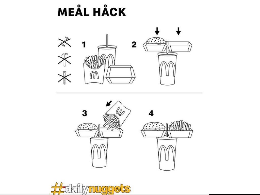 Restoran Fast Food Bagikan Tips Makan Simpel, Netizen Malah Ngomel