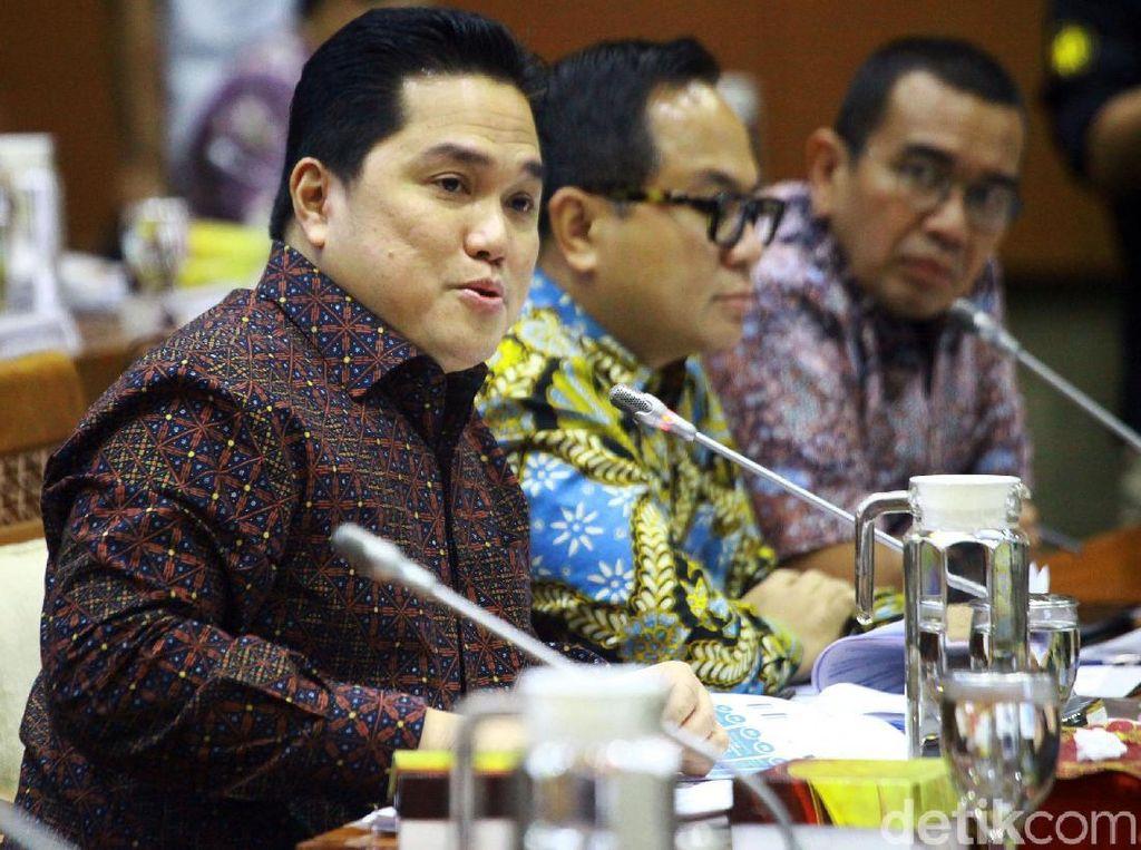 Erick Thohir Mau Bentuk Holding Industri Manufaktur