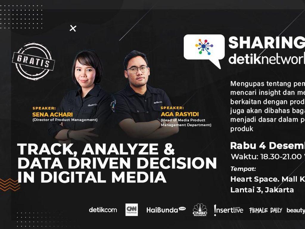 Event Gratis! Ngobrol Strategi Produk Pakai Data Digital