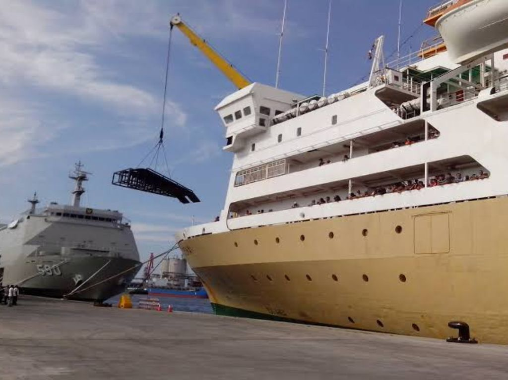 Kemenhub Kerahkan 1.293 Kapal Angkutan Saat Natal & Tahun Baru
