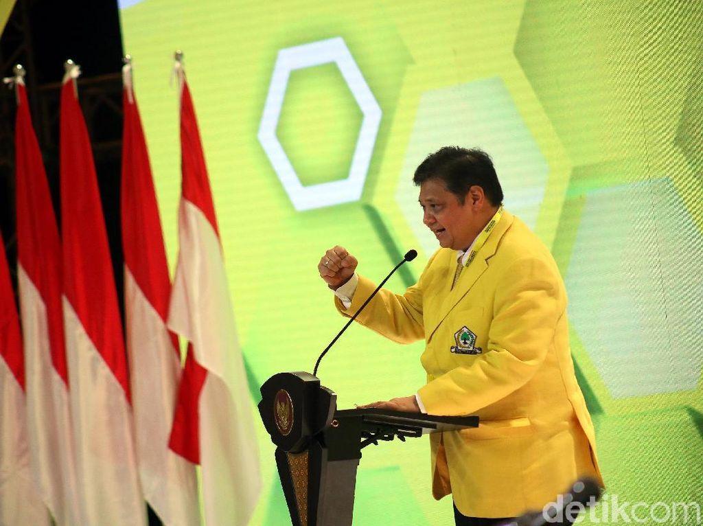 Sah! Airlangga Hartarto Ketum Golkar Terpilih 2019-2024