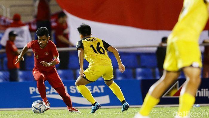 Timnas Indonesia U-22 menggeser Thailand di Klasemen Grup B Sepakbola SEA Games 2019. (Foto: Grandyos Zafna/detikcom)