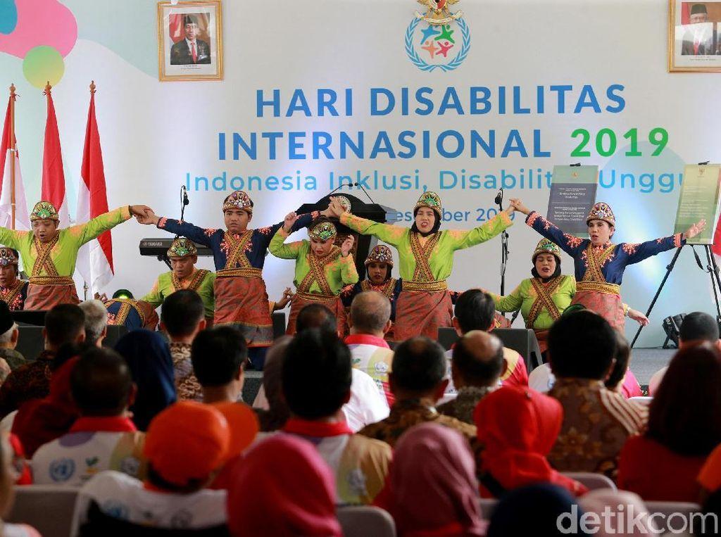 Saat Para Difabel Unjuk Bakat di Hari Disabilitas Internasional