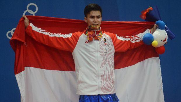 Edgar Xavier Marvelo merebut dua medali emas di SEA Games 2019.