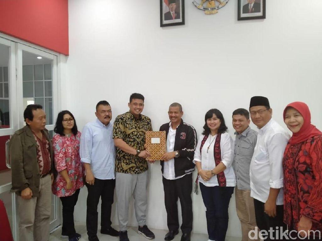Bobby Nasution Daftar Cawalkot Medan, PKS Singgung soal Nepotisme