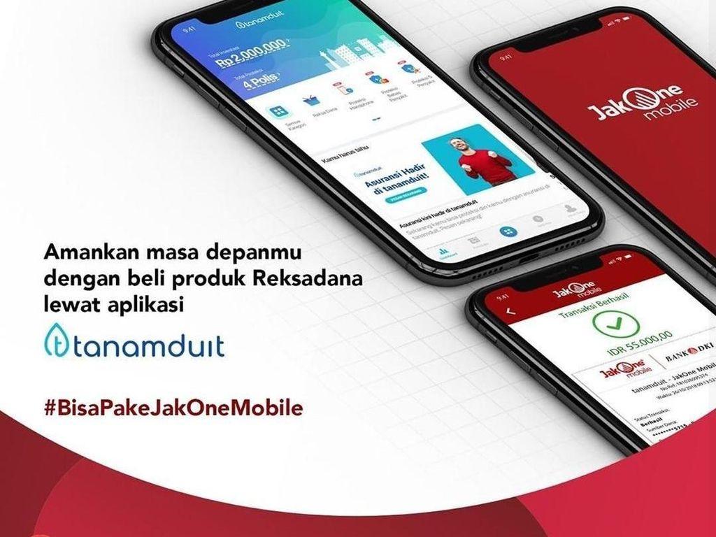 Bank DKI Ajak Milenial Investasi Reksadana Lewat Aplikasi TanamDuit