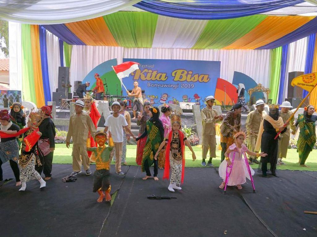 Festival Kita Bisa, Ajang Penampilan Bakat dan Prestasi Difabel di Banyuwangi
