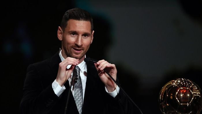 Lionel Messi raih Ballon dOr 2019. (Foto: Francois Mori/AP Photo)