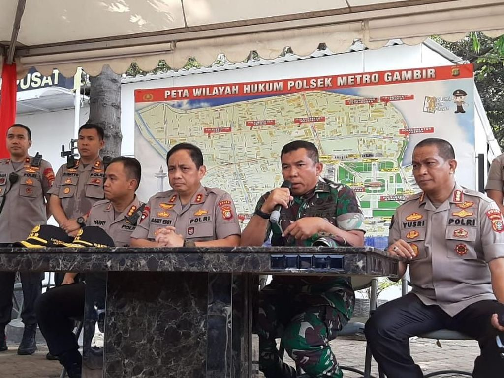 Ledakan Granat Asap di Monas, Pangdam Jaya: Ini Bukan Hal Luar Biasa