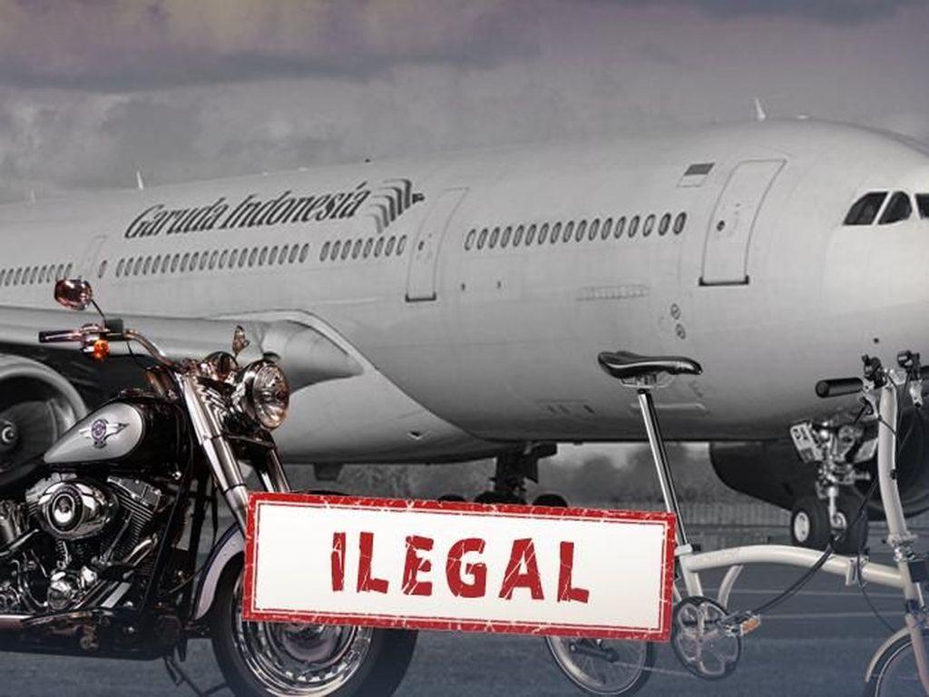 Terungkap! Ini Pemilik Harley & Brompton yang Diangkut Pesawat Garuda
