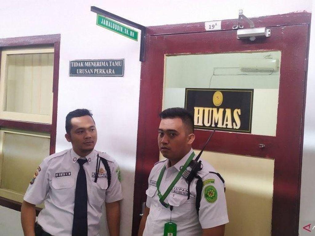 Ruang Kerja Hakim Jamaluddin yang Tewas Dibunuh Diperiksa Pimpinan PN Medan