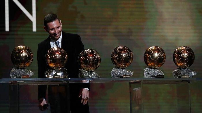 Lionel Messi merasa rekor Ballon dOr-nya mungkin saja dipecahkan di masa depan. (Foto: Francois Mori / AP Photo)