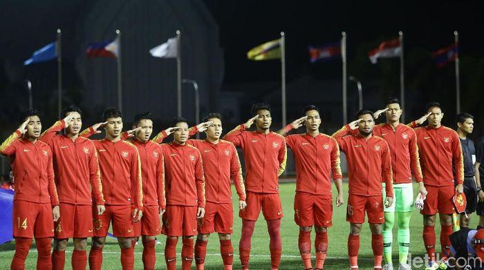 Timnas Indonesia U-22 punya siasat untuk obati rasa kangen keluarga. (Foto: Grandyos Zafna/detikcom)