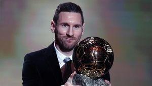 Ballon dOr Keenam Lionel Messi