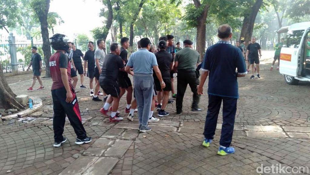 Dua Anggota TNI Terluka Akibat Ledakan di Monas