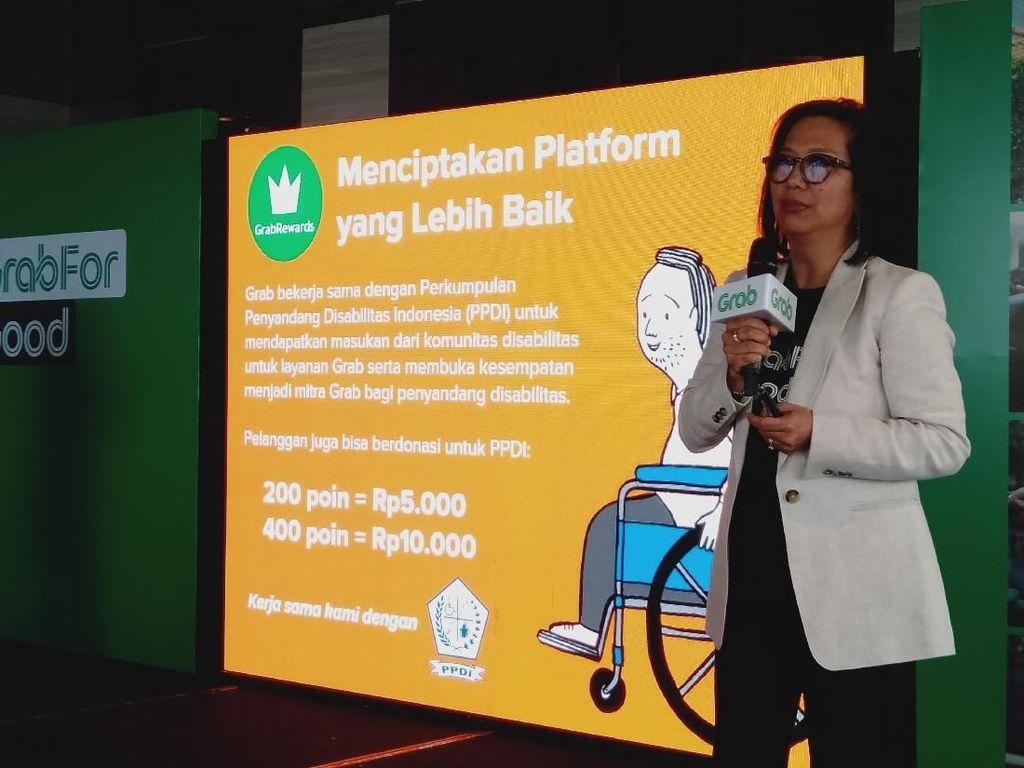Ini Program Baru Grab untuk Mitra dan Penumpang Disabilitas