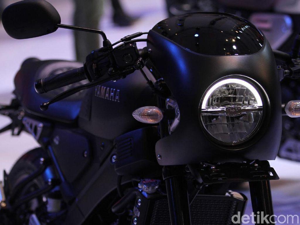 Tampil Ganteng, Begini Wujud Yamaha XSR 155 Versi Cafe Racer