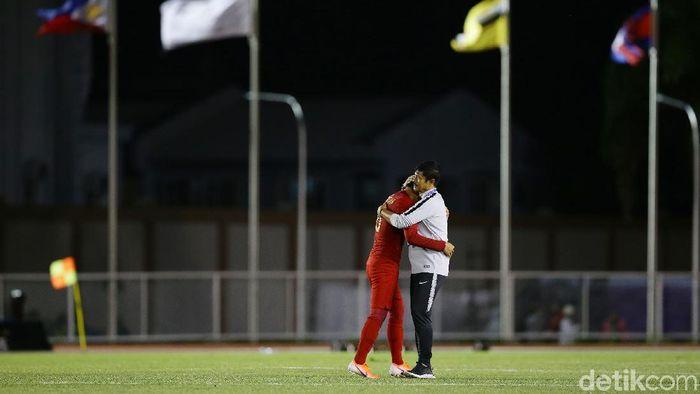 Indra Sjafri menilai Timnas Indonesia U-22 bisa menang lebih besar lagi atas Brunei Darussalam. (Foto: Grandyos Zafna/detikcom)