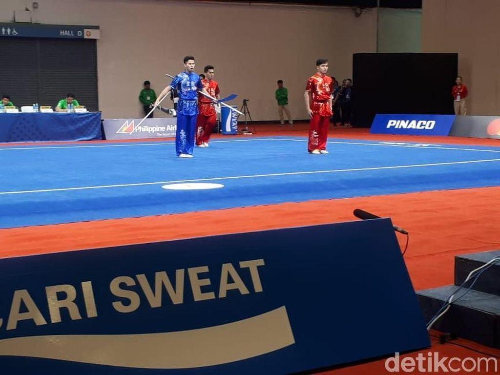 Wushu Tambah Emas Lagi untuk Indonesia di SEA Games