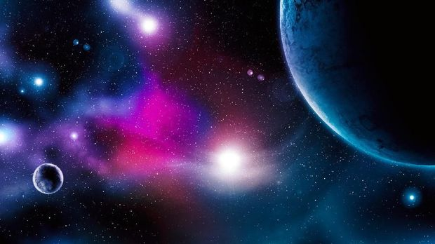 Ilustrasi alam semesta