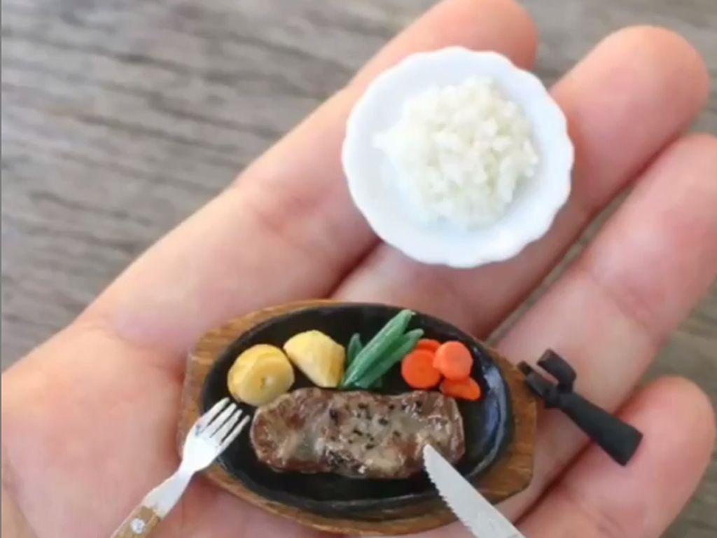 Gemas! Bentuk Makanan Ini Berbentuk Miniatur Mini