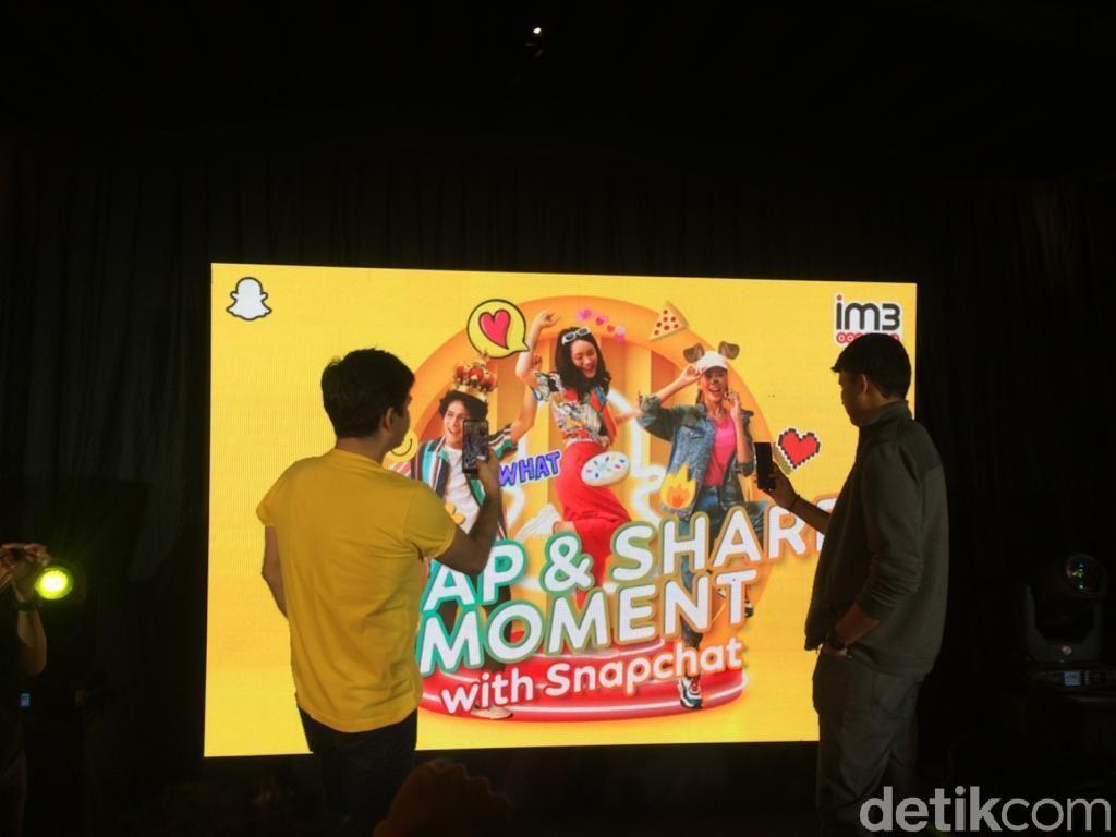 Asyiknya Paket Snapchat Indosat, Kuota Utama Tetap Aman