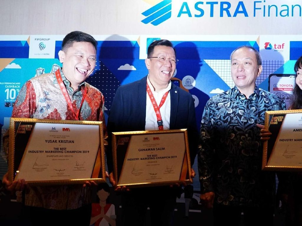 Group Astra Raih 3 Penghargaan Marketeer Of The Year 2019