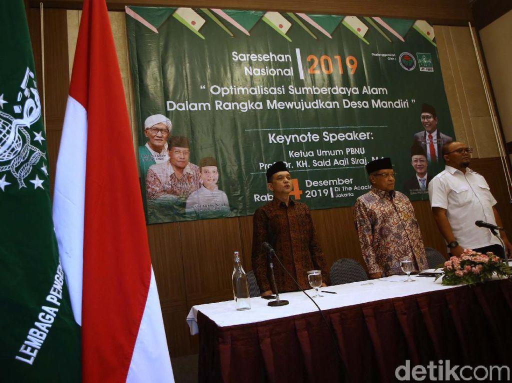 Sarasehan Nasional Maksimalkan SDM dan SDA Guna Desa Mandiri