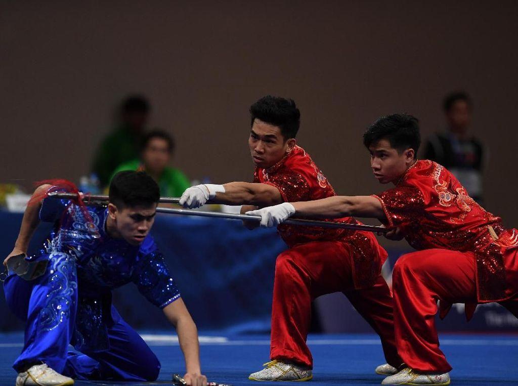 Taolu Penuhi Target Dua Emas di SEA Games, Pelatih Puas