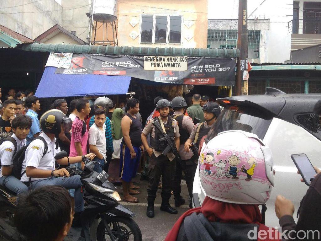 Pelaku yang Bunuh Wanita Kos di Medan, Masuk Lewat Pintu Belakang