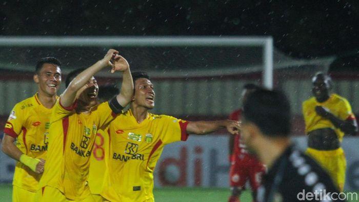 Bhayangkara FC berhasil mengalahkan Persija 3-0 (Foto: detik.com/Rifkianto Nugroho)