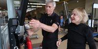 Ruth Kundsin, usia 103 tahun masih kuat nge-gym