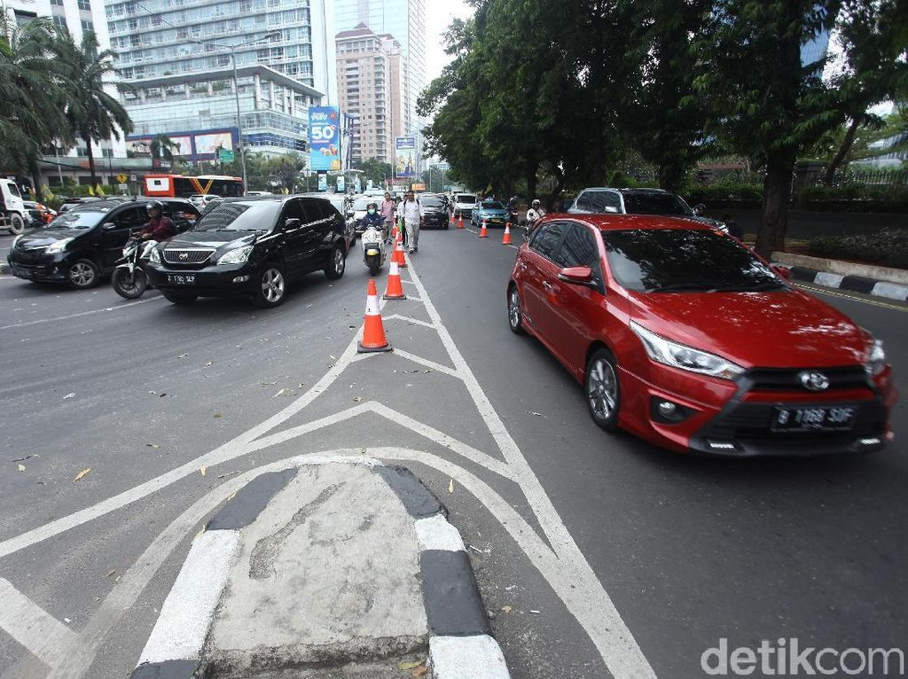 Dishub DKI Klaim Penutupan U-Turn Jalan Satrio Perlancar Lalu Lintas