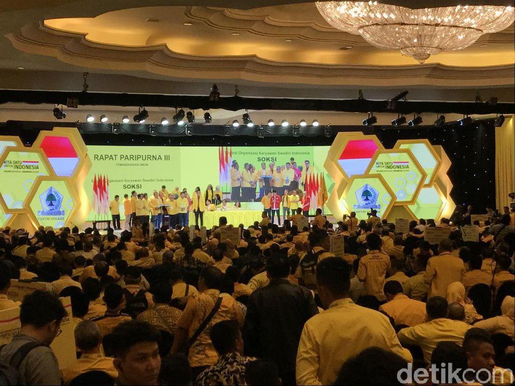 Seluruh DPD-Ormas Partai Golkar Ajukan Airlangga Caketum