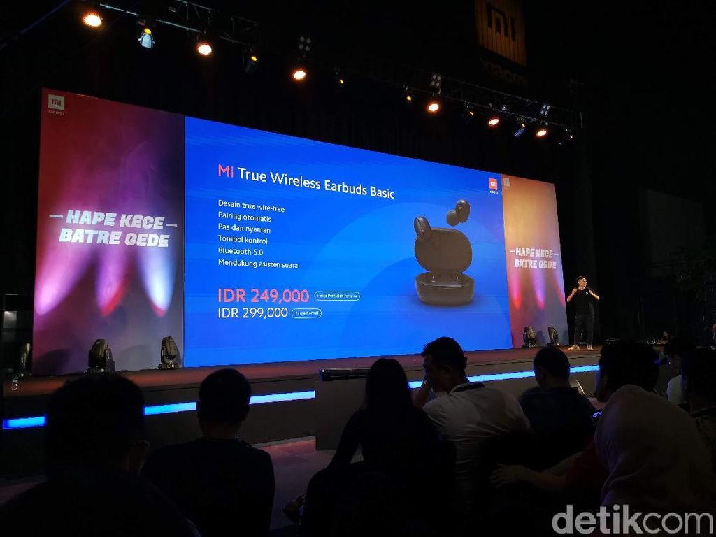 Xiaomi Rilis Earphone True Wireless, Harganya Rp 249 Ribu