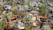 Potret Ratusan Sumur Minyak Ilegal yang Ditutup Polisi di Jambi