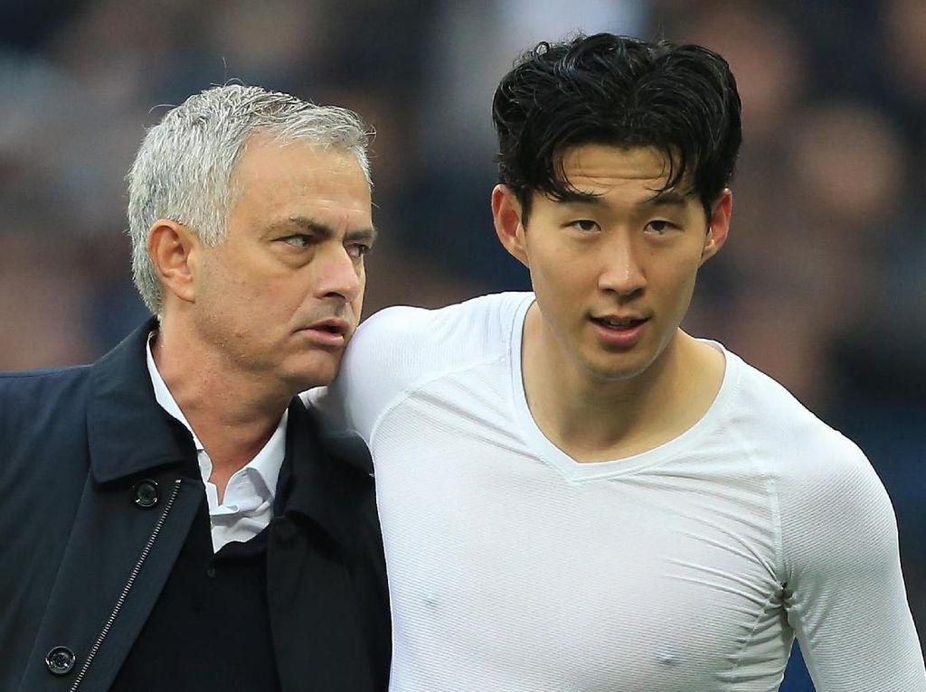 Mourinho Kesengsem Son Heung-min: Saya Jatuh Hati