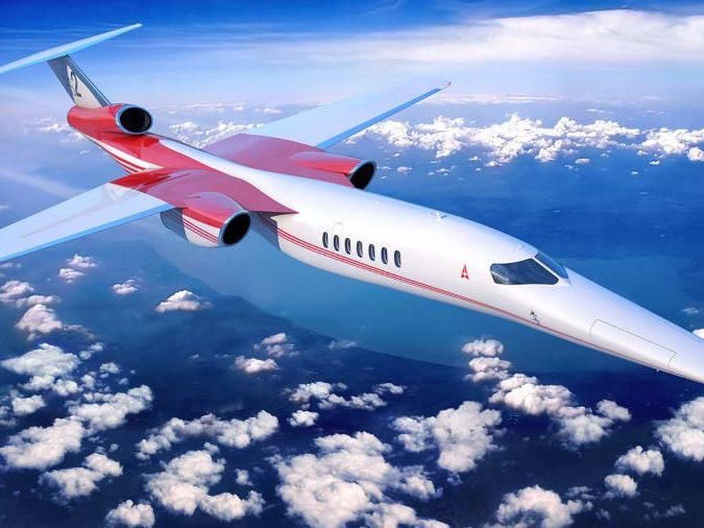 Potret Pesawat Supersonik yang akan Mengudara di 2020