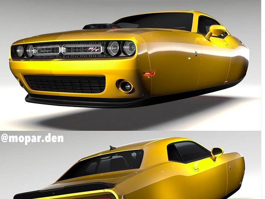 Ini Perkiraan Desain Mobil Terbang ala Dodge