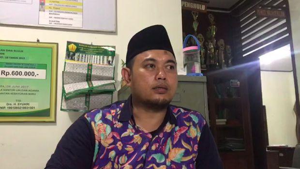 Fathur Rachman (peghulu KUA Kebayoran Baru)