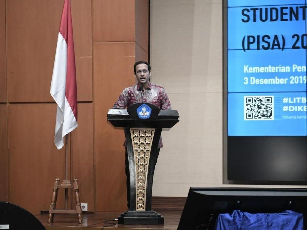 Nadiem Nilai Survei PISA 2018 Perspektif Baru untuk Perbaiki Pendidikan