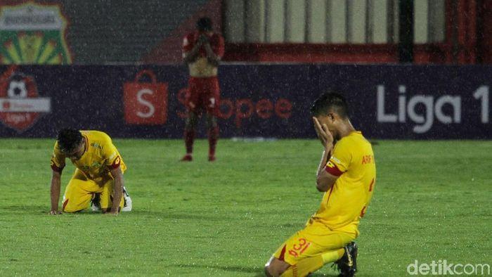Bhayangkara FC gagal tambah gol di babak kedua kontra Persija Jakarta (Rifkianto Nugroho/detikSport)