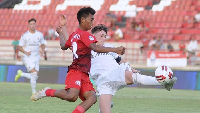 Indonesia U-20 kalah 4-5 dari Real Madrid di U-20 International Cup 2019 (ANTARA FOTO/Fikri Yusuf)